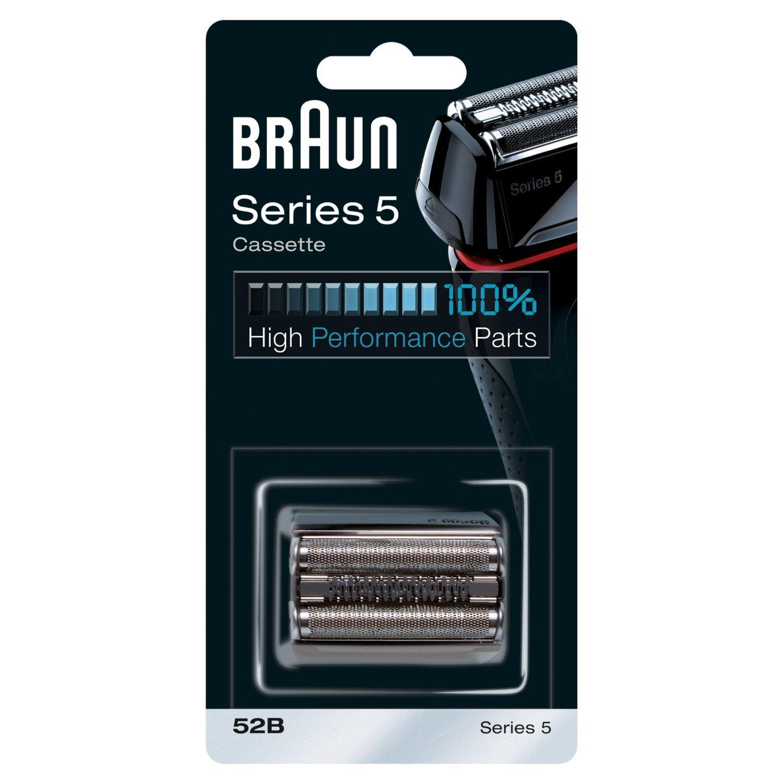Braun scherkopf 52b, für braun rasierer, schwarz: amazon.de ...