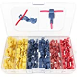 eHUB 120pcs Female/Male Insulated Quick Disconnect Wire Terminals Connectors