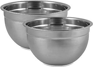 King International Stainless Steel Big Bowl Set Of 2Pcs