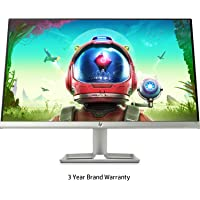HP 24 inch (61.0 cm) Ultra-Slim LED Backlit Gaming Monitor - Full HD, 75 Hz Refresh Rate, AMD Free Sync,Anti-Glare, IPS Panel with VGA and HDMI Ports - HP 24F Display - 3AL28AA (Silver)