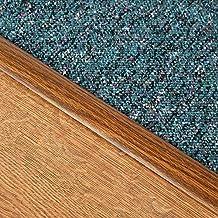 Bundle - 2 Items - Stikatak Laminate Cover Strip Flooring Thresholds Dark Oak 90cm - Household Accessories