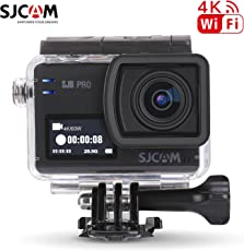 Sammelobjekt 16GB TF Karte + SJCAM SJ8Pro WiFi Sport Action Kamera, HD 4K 60fps12mp 30m Wasserdicht Camcorder Digital Zoom 5,9cm Dual Touch Bildschirm Sport Action Cam + 1Extra Akku + 1Dual Ladegerät (schwarz)
