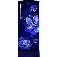 Whirlpool 200 L 4 Star Inverter Direct-Cool Single Door Refrigerator (215 ICEMAGIC PRO ROY 4S INV, Sapphire Mulia, Base…