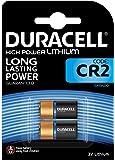 Duracell High Power Lithium CR2 Batterie 3V, 2er-Packung (CR15H270) entwickelt für die Verwendung in Sensoren, schlüssellosen Schlössern, Blitzlicht und Taschenlampen.