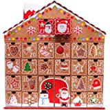 Gingerbread House 3D Large Advent Calendar, With Pull Out Date Holding Boxes