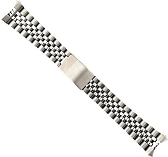20 millimetri in acciaio inox sostituzione Jubilee Watch bracciale per Rolex Datejust