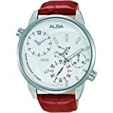 Alba Watch For Men - Casual Watch / Multi Color , Leather - A2A009X1