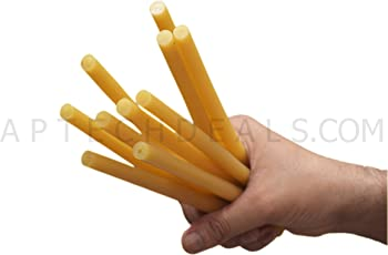 Themisto Yellow glue sticks Strong Gumming Pack of 10 PC