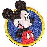 Disney Mickey Mouse Parche Decorativo Termoadhesivo 7 x 7 cm