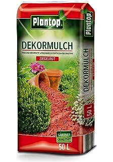 Rot Rindenmulch Pinienrinde 50 L Dekoration für Garten ökologisches Produkt