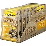 جيم دوغ كرات لحم الدجاج والموز والسمسم غني بالمعادن للكلاب ، 70 غم