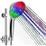 Douchekop led ZSZT® wellnessdouche handdouche douchekop met licht kleurverandering 7 kleuren automatisch, past op de meeste s