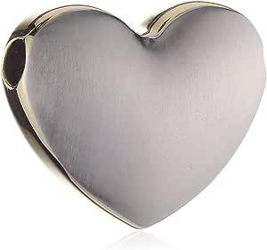 Boccia Damen Anhänger Titan Herz (Seiten Gp) 0708 01
