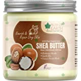 Bliss of Earth® 100% Pure Organic Ivory Shea Butter | Raw | Unrefined | African | 200GM | Great For Face, Skin, Body, Lips, D