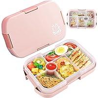 Lunch Box, Bento Box Boite Bento 6 Compartiments1000ml Sécurité Anti-Fuite Écologique Hermétique Boîte à Repas pour Le…