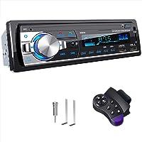 RDS Autoradio Bluetooth Main Libre, CENXINY 4 x 65W Poste Radio Voiture Bluetooth 5.0 LCD avec Horloge, Supporte USB/AUX…