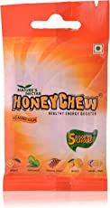 Honey Chew Pouch, 100grams pack of Five (5 x 20 grams)