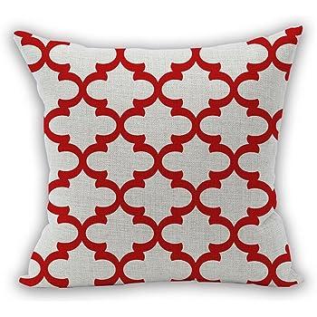 Nunubee Kissenbezug Wohnzimmer Deko Deko Kissen Shabby Chic Deko  Scheibengardine Landhausstil Autodekoration Sofa Cover, Stil 5 45x45CM