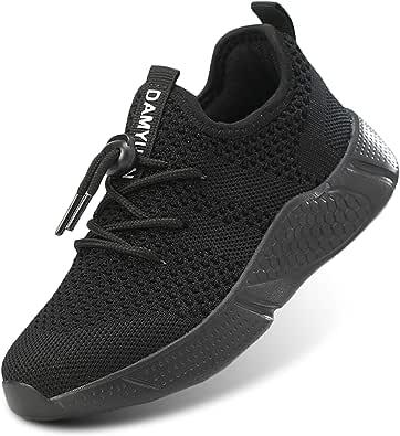 Bambini Bambina Ragazzo Ragazza Scarpe da Corsa Sportive Ginnastica Respirabile Mesh Leggero Running Tennis Sneakers Fitness Casual Palestra Basket Unisex