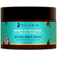 Pilgrim Retinol Night Cream with Vitamin C | Anti-ageing, Discover Youthful & Glowing Skin | For Wrinkles, Fine Lines…