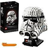 LEGO Star Wars Casque de Stormtrooper, jeu de construction, Modèle à construire et collectionner, 647 pièces, 75276