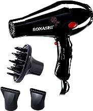 Sonashi Hair Dryer 2000 Watts, Black [SHD-3013]
