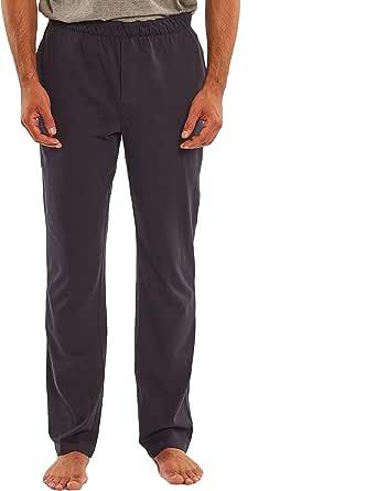 Savile Row Men's Pyjama Bottoms - Cotton Jersey Classic Casual Soft Trousers Lounge Pants Loungewear Nightwear Sleepwear for Gentlemen