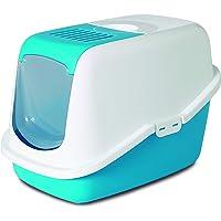 Savic Nestor Cat Toilet Home (Colour - Twilight Blue)