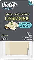 VIOLIFE Lonchas Veganas Sabor Mozzarella 200 g
