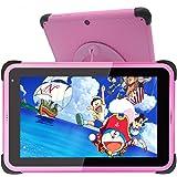Barn Surfplatta 7 tums,kids tablet,Android 10 surfplattor för barn,32 GB ROM IPS HD-skärm Småbarnstablett med WiFi-dubbelkame