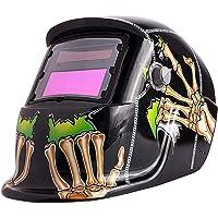 Ejoyous Casque de Soudage, Masque de Soudage Protection de Soudeur Automatique avec Fonction de Meulage Assombrissement…