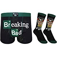 Breaking Bad Walter White Mens Dress Socks & Boxer Shorts Official Gift