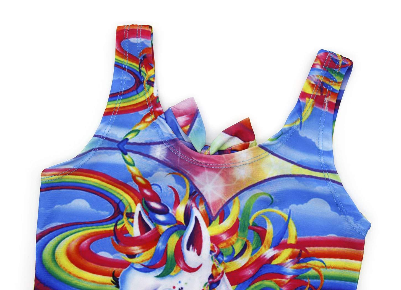 AmzBarley Unicorno Costumi Interi da Ragazza Bambina Costume da Bagno Mare Piscina Nuoto Nuotare Abbigliamento da… 4 spesavip