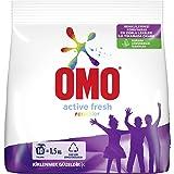 Omo Active Fresh Toz Çamaşır Deterjanı Renkliler İçin Renklilerinizi Koruyarak En Zorlu Lekeleri İlk Yıkamada Çıkarır 1.5 KG