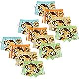 Usex Sense 12 Pack Bóxers Calzoncillos Ropa Interior Algodon para Niños 1-10 años