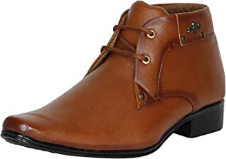 Kraasa Men's Synthetic Leather Formal Shoes