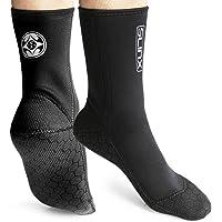 PAWHITS Wetsuit Socks 3mm Neoprene Socks Thermal Anti-slip Diving Socks for Men Women Diving Snorkeling Swimming Surfing…