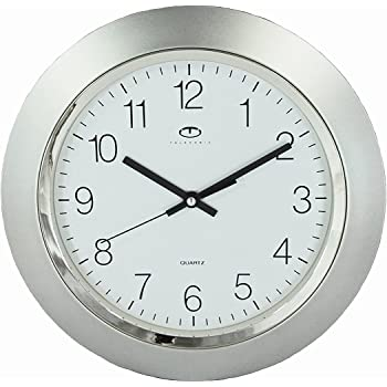 Buy White Quartz Wall Clock W Quiet Sweep Second Hand
