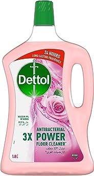Dettol Rose Antibacterial Power Floor Cleaner 1.8L