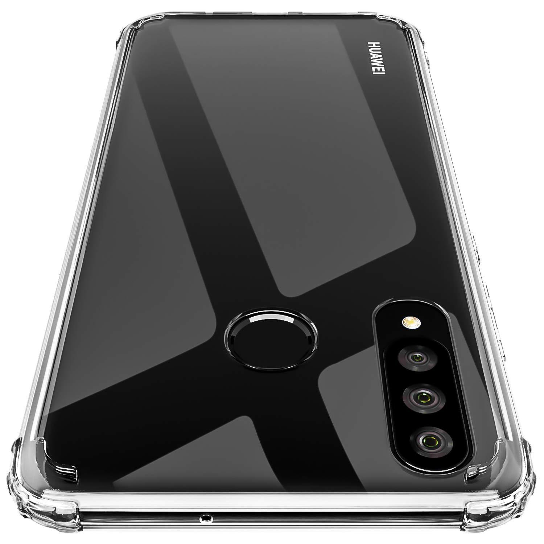 27194611112 ... Soft TPU de Impactos y Anti-Arañazos Espalda Case Cover para Huawei P30  Lite – Transparente. ¡Oferta! 🔍. Amazon Prime