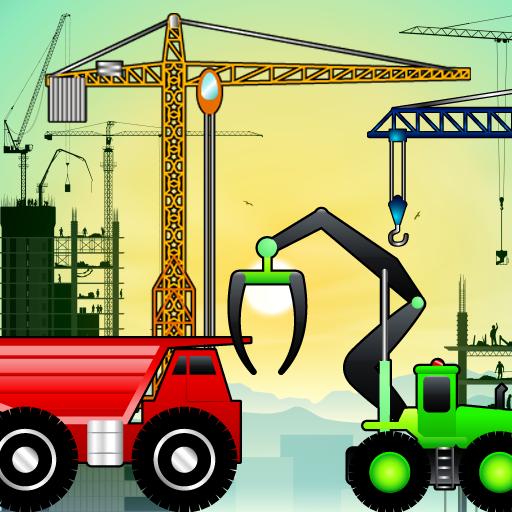 Bagger und Lastwagen - Puzzle für Kleinkinder ! (Blasen Besten Maschine)