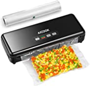 Vacuum Sealer Machine, Aicook Full Function Automatic Food Sealer, Free Vacuum Bag Food Savers, Pulse Vacuum, Bag Roll Storag