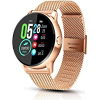 EIVOTOR Smartwatch Donna Uomo Sport Watch Impermeabile IP68 Orologio Fitness Tracker Activity Cardiofrequenzimetro…