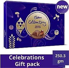 Cadbury Celebrations Premium Assorted Chocolate Gift Pack 250.3 GM