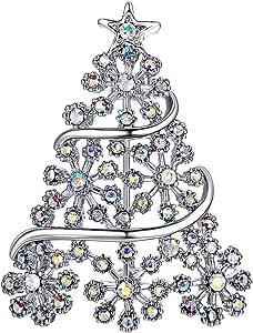 FOCALOOK Spilla Donna Delicata Elegante Violino/Gatto/Ape/Ragno/Tartaruga/Pavone/Fiore Animali Simpatici Accessorio Maglione Regalo Natale Compleanno Anniversario San Valentino Nuziale (Argento Oro)