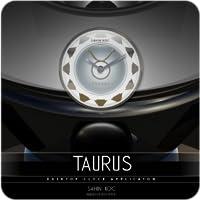 Taurus Beautiful Clock Widget Zodiac Theme for Android