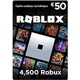 Carte-cadeau Roblox - 4,500 Robux