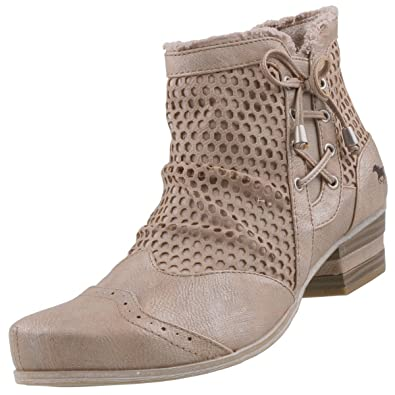 1221-809-318, Sandales Bout Ouvert Femme, Marron (318 Taupe), 38 EUMustang
