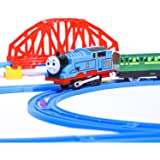 Aastha Enterprise Battery Operated Train Toys Track Set for Kids with Sound and Flashing Lights