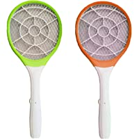 Super Toy Rechargeable Mosquito Insect Killer Racket/Bat (Multi-Color)